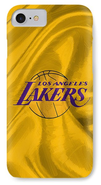 Los Angeles Lakers IPhone Case by Afterdarkness
