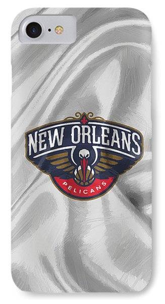 New Orleans Pelicans IPhone Case by Afterdarkness