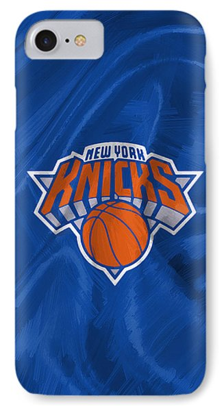 New York Knicks IPhone Case by Afterdarkness