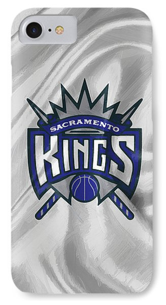 Sacramento Kings IPhone Case by Afterdarkness