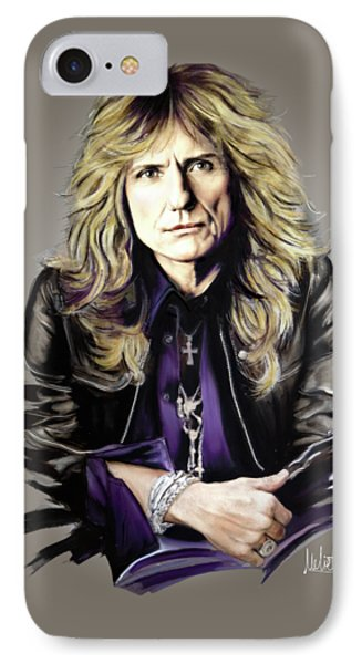 David Coverdale IPhone 7 Case by Melanie D