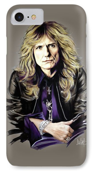 David Coverdale IPhone Case by Melanie D