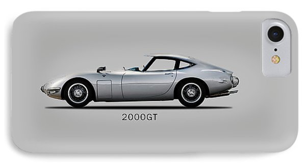 The Toyota 2000gt IPhone Case by Mark Rogan