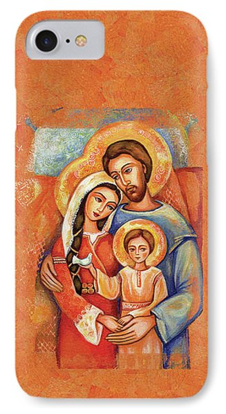 The Holy Family IPhone Case by Eva Campbell
