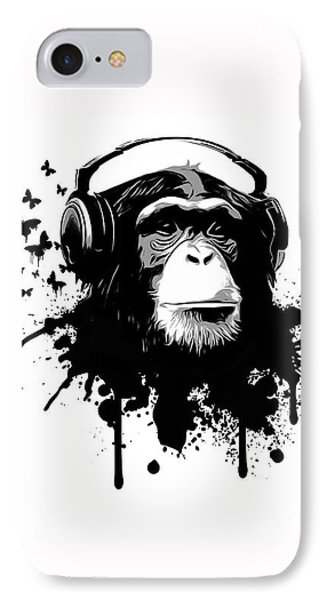 Monkey Business IPhone Case by Nicklas Gustafsson