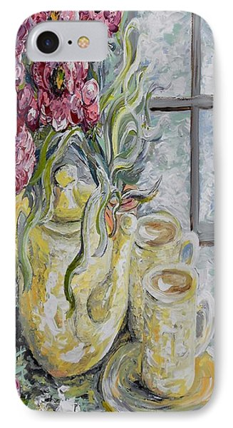 Morning Tea For Two Phone Case by Eloise Schneider