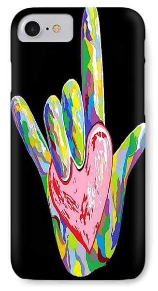 I Heart You Phone Case by Eloise Schneider