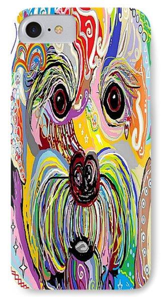 Maltese Puppy Phone Case by Eloise Schneider