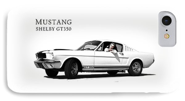 Mustang Shelby Gt 350 IPhone Case by Mark Rogan