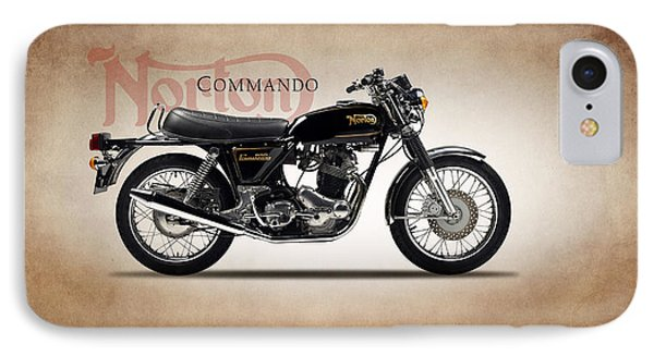 Norton Commando 1974 IPhone Case by Mark Rogan