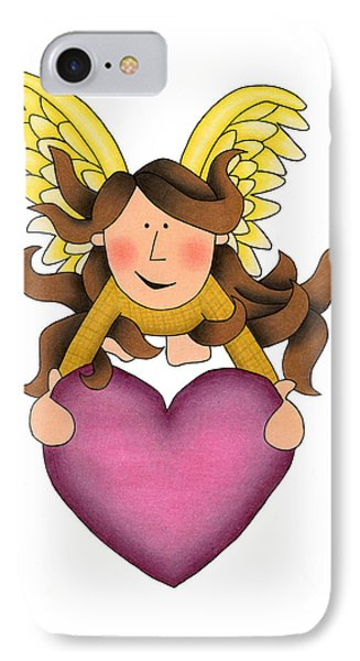 From The Heart IPhone Case by Sarah Batalka