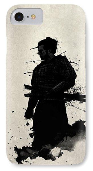 Samurai IPhone Case by Nicklas Gustafsson