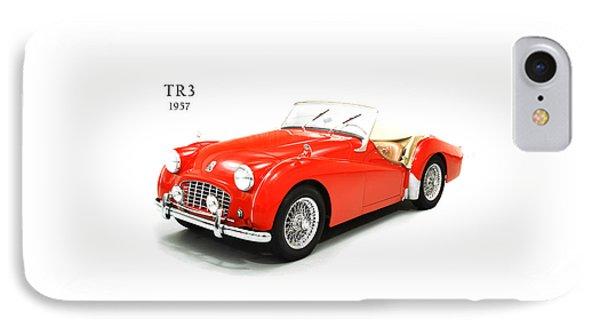 Triumph Tr3 1957 IPhone Case by Mark Rogan