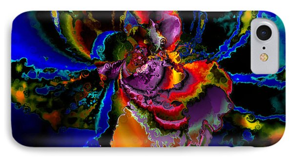 Assault By The Blues IPhone Case by Claude McCoy