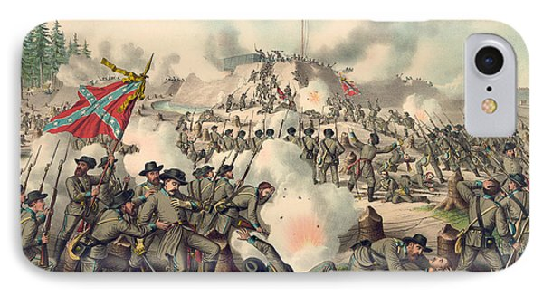Assault On Fort Sanders IPhone Case by American School