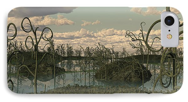 Asteroxylon Was A Primitive Plant That Phone Case by Walter Myers