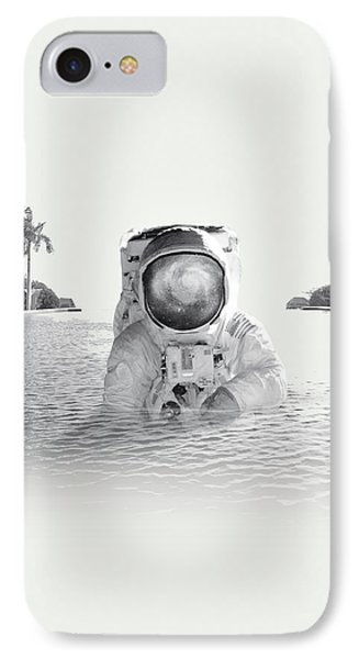 Astronaut IPhone Case by Fran Rodriguez