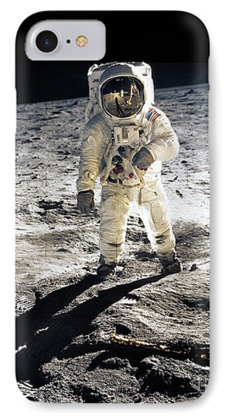 Astronaut IPhone 7 Case by Photo Researchers
