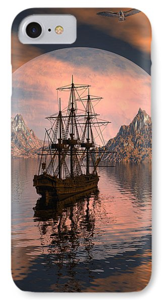 At Anchor IPhone Case by Claude McCoy