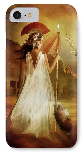 Athena IPhone Case by Mary Hood