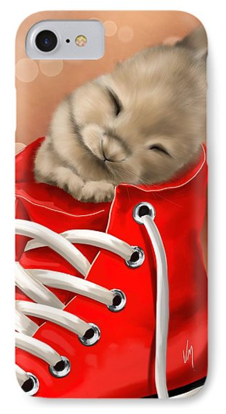 Athletic Rest IPhone Case by Veronica Minozzi