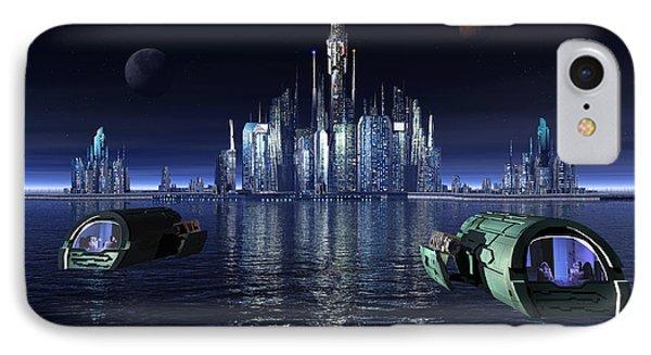 Atlantis Night Patrol IPhone Case by Joseph Soiza