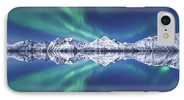 Aurora Square IPhone Case by Tor-Ivar Naess