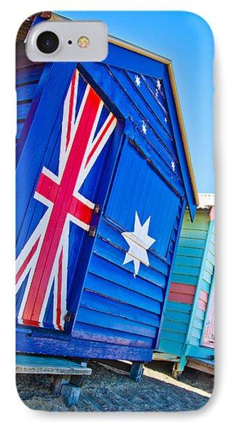 Aussie Beach Shack IPhone Case by Az Jackson