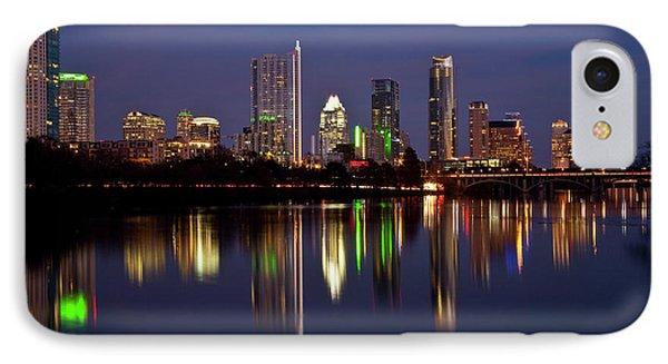 Austin Skyline IPhone Case by Mark Weaver