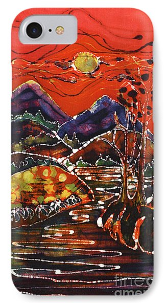 Autumn Adirondack Sunset Phone Case by Carol Law Conklin