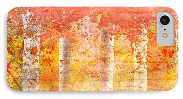 Autumn Aspens IPhone Case by Brett Pfister