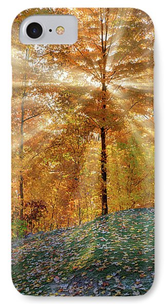 Autumn Beams IPhone Case by Bill Wakeley