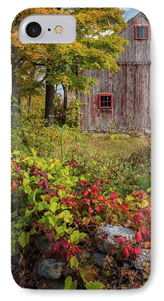 Autumn Day IPhone Case by Bill Wakeley