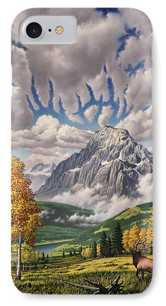 Autumn Echos IPhone Case by Jerry LoFaro