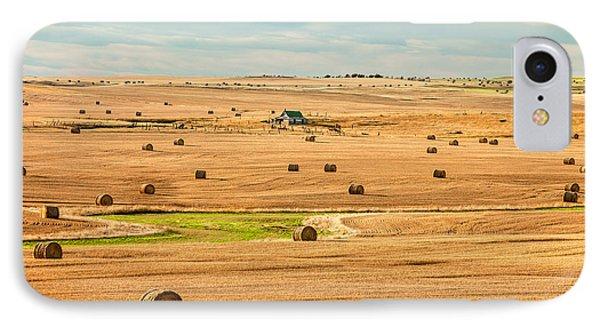 Autumn Fields IPhone Case by Todd Klassy