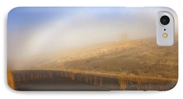 Autumn Fog Bow Phone Case by Mike  Dawson