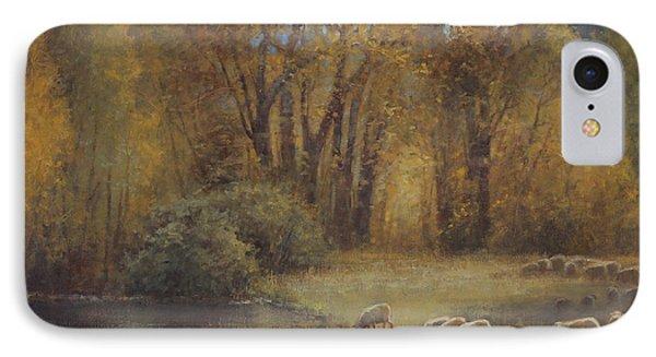 Autumn Grazing IPhone Case by Lori McNee