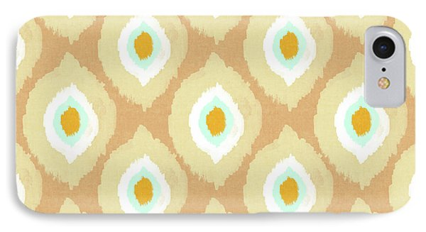 Autumn Ikat- Art By Linda Woods IPhone Case by Linda Woods