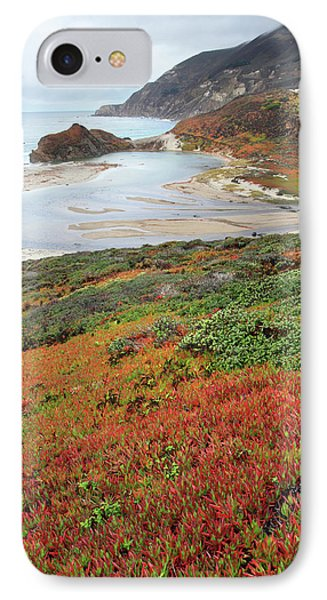 Autumn In Big Sur California Phone Case by Pierre Leclerc Photography