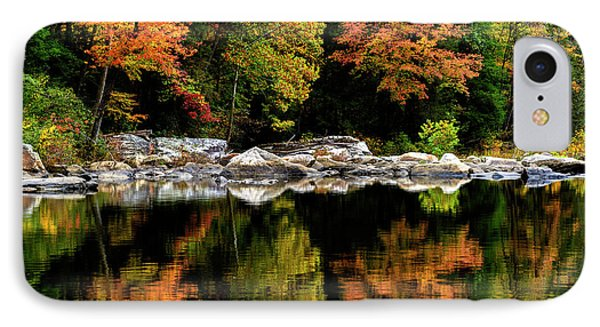 Autumn Middlle Fork River IPhone Case by Thomas R Fletcher