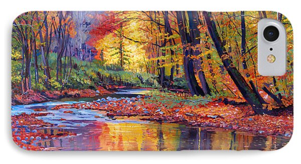 Autumn Prelude IPhone Case by David Lloyd Glover