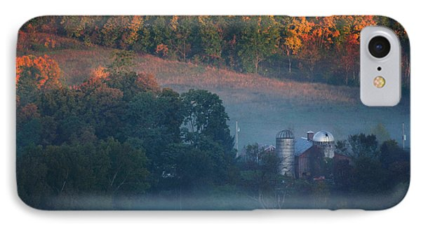 Autumn Scenic - West Rupert Vermont IPhone Case by Thomas Schoeller