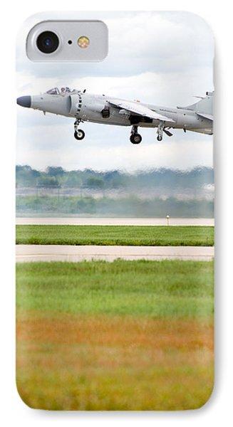 Av-8 Harrier IPhone Case by Sebastian Musial