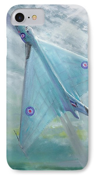 Avro Vulcan B1 Night Flight IPhone Case by Vincent Alexander Booth