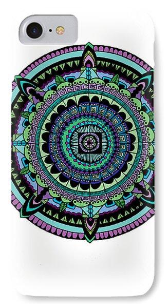 Azteca IPhone Case by Elizabeth Davis