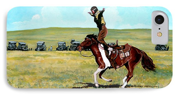 Babette Rides Again Phone Case by Tom Roderick