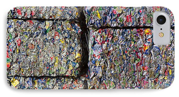 Bales Of Aluminum Cans Phone Case by David Buffington