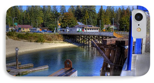 Balfour Bc Docks And Ferry  Phone Case by Lee  Santa