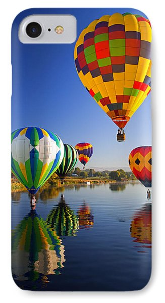 Balloon Reflections Phone Case by Mike  Dawson