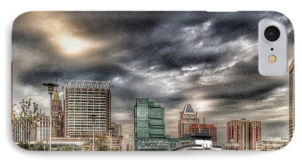 Baltimore Inner Harbor IPhone Case by Marianna Mills